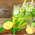 natural way to lose stomach fat in 2 weeks/ detox water