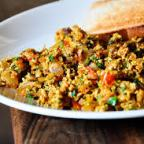 How  to make an Indian scrambled egg/ egg bhurji recipe