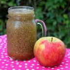 Apple cider and chia seeds detox water challenge …day 4