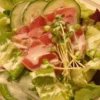 Japanese fish tataki salad